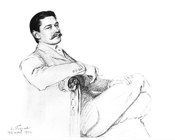 Portrait de Louis Cartier.