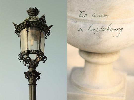 Un vase Médicis du jardin du Luxembourg