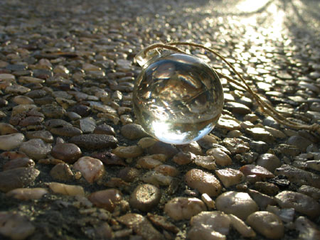 Pampille en verre