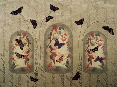 Papillons englobés