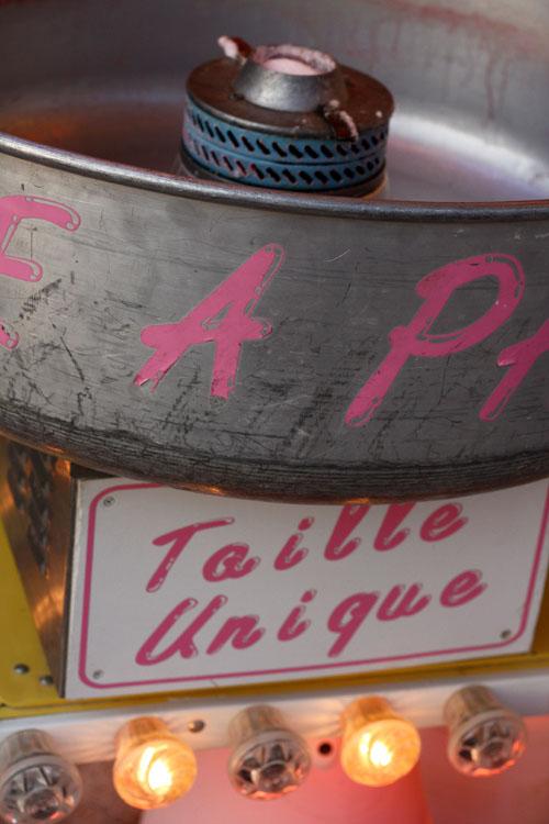 Barbe à papa aux Tuileries