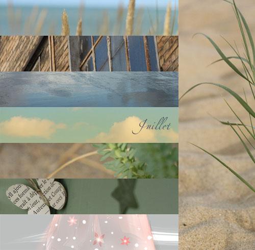 Carnet d'inspiration / juillet