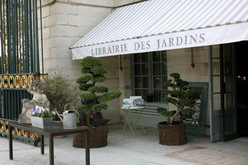 La librairie des Jardins aux Tuileries