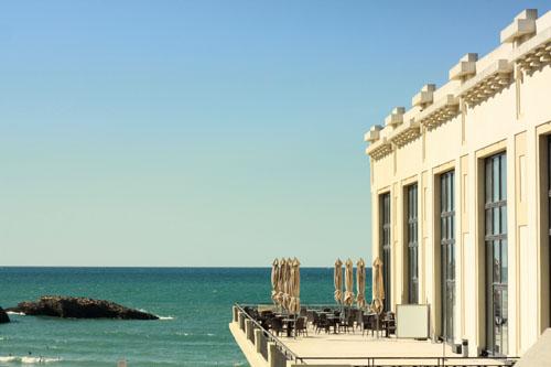 La terrasse du Casino de Biarritz