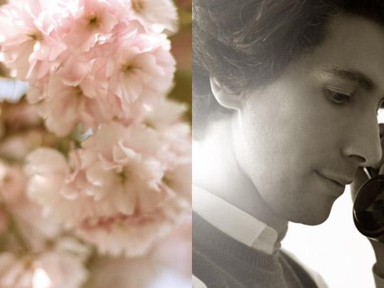 Fantaisie rétro, et fleurie…