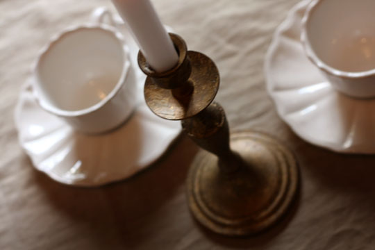 Tasses de thé