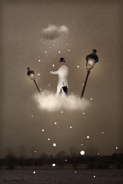 art graphique : Voyage en nuage