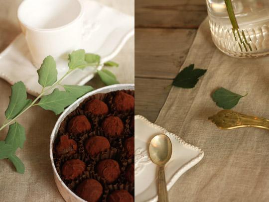 Truffes au chocolat Dalloyau