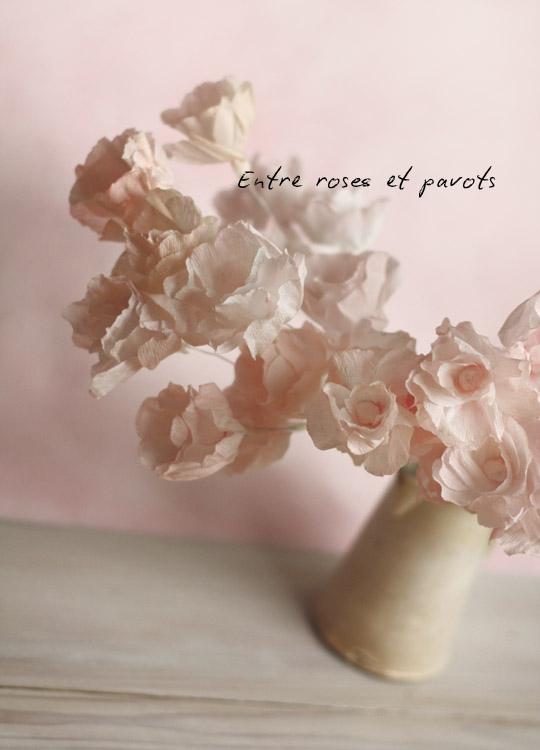 Réaliser des fleurs en papier