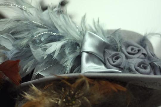 Plumes de chapeau