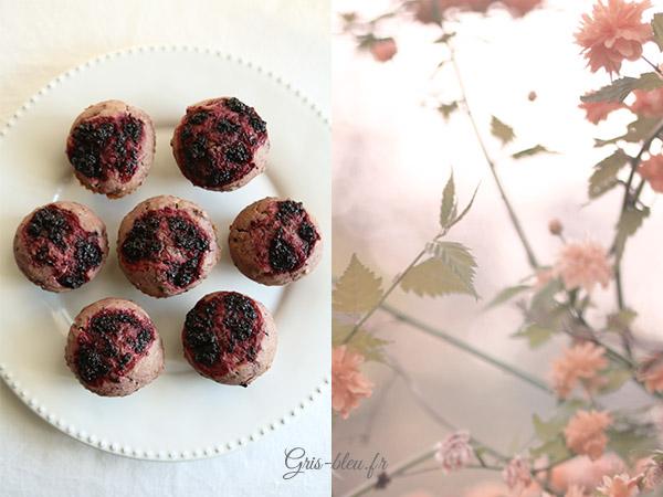 Muffins à la mûre