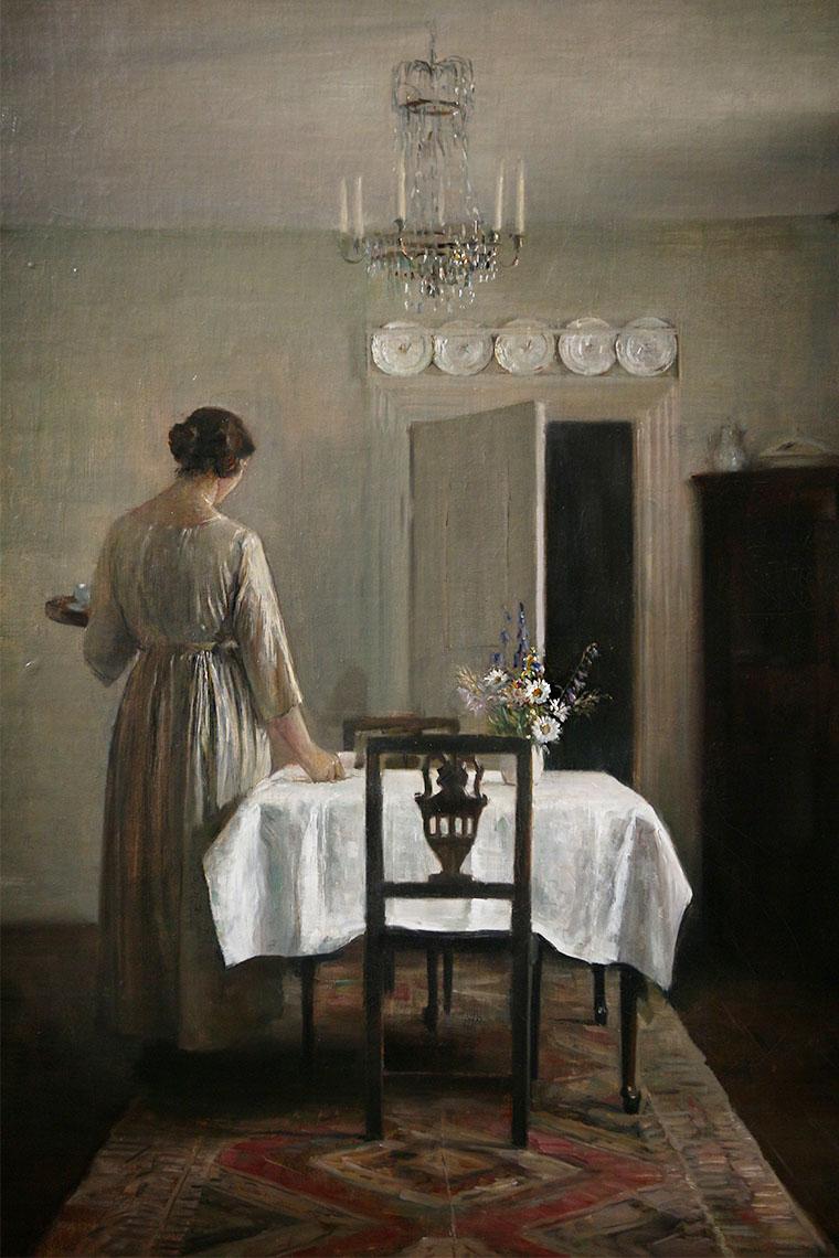 La femme de Carl Holsøe