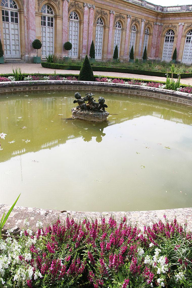 Bassin rond du Grand Trianon