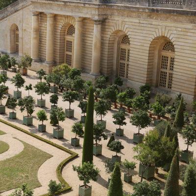 Le château de Versailles sans ses touristes