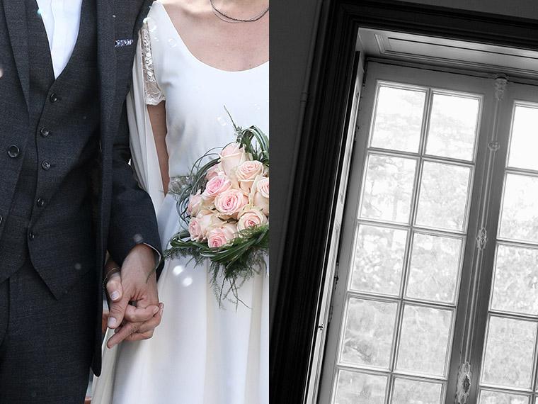 Mariage main dans la main