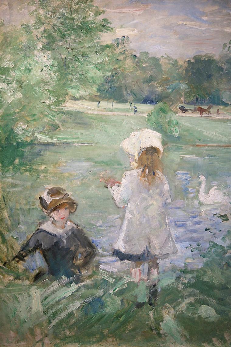 Au bord du lac de Berthe Morisot