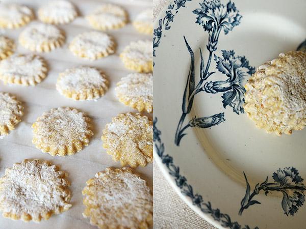 Biscuits à la fleurs d'Oranger
