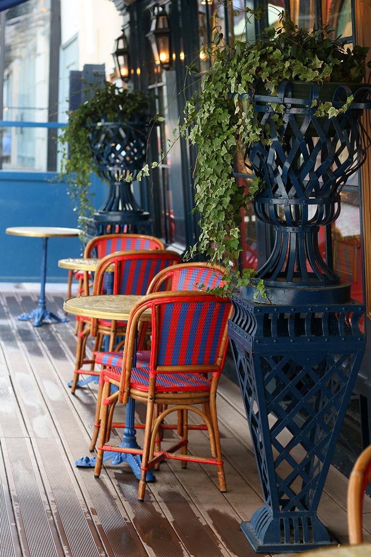 Terrasse du restaurant Le Procope