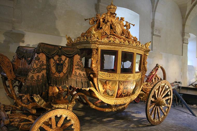 Le carrosse du sacre de Charles X