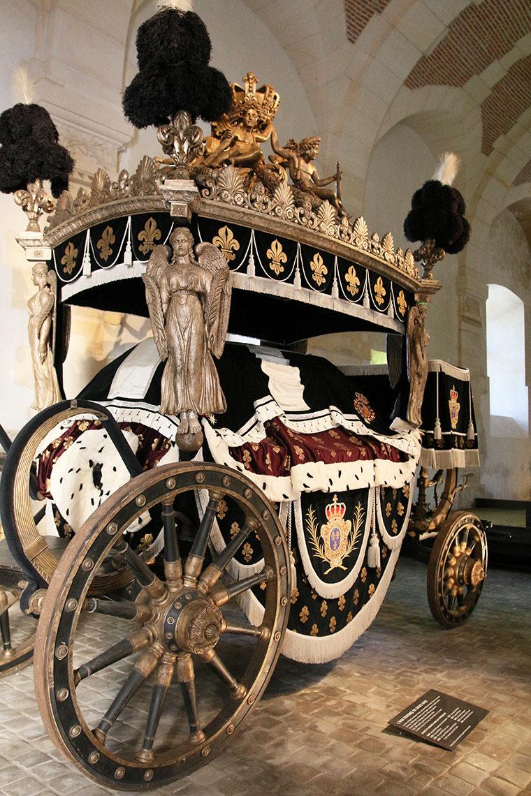Char funèbre de Louis XVIII