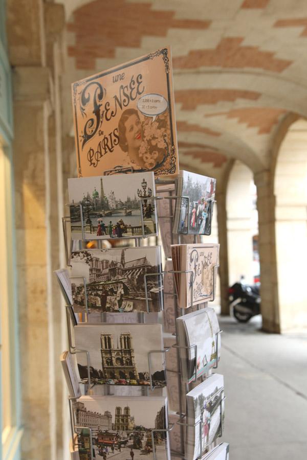 Le charme de la place des Vosges
