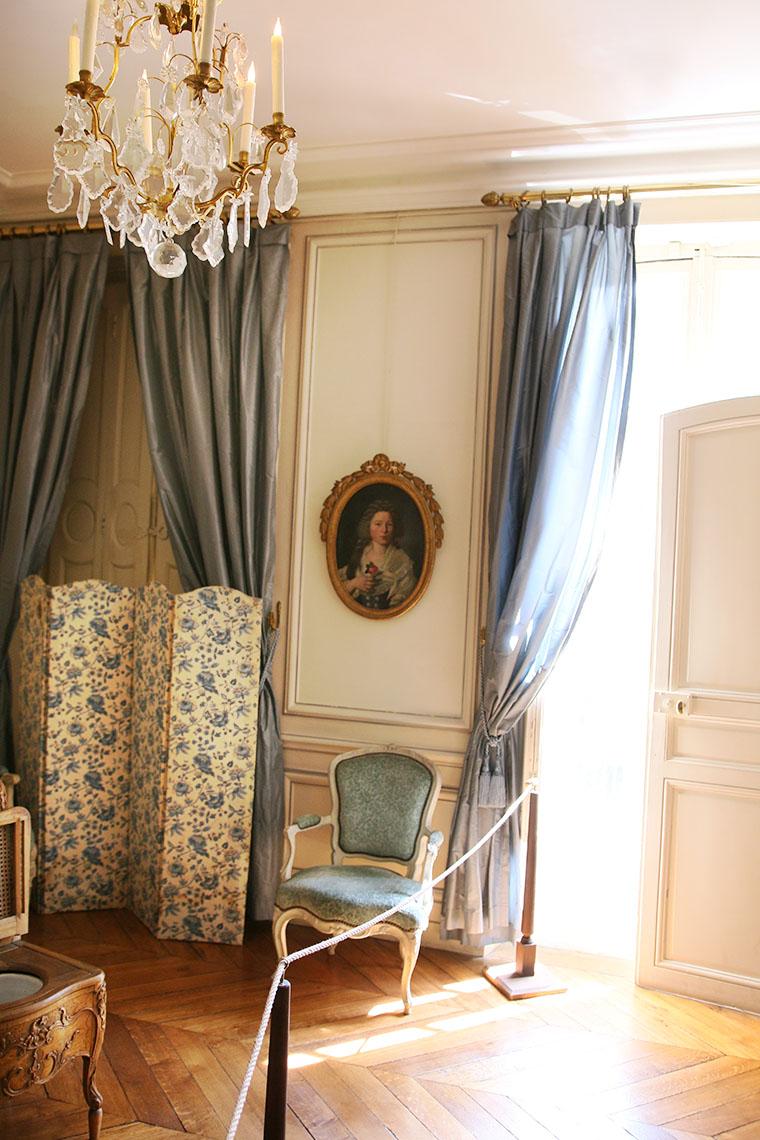 La chambre du maître de maison au musée Lambinet