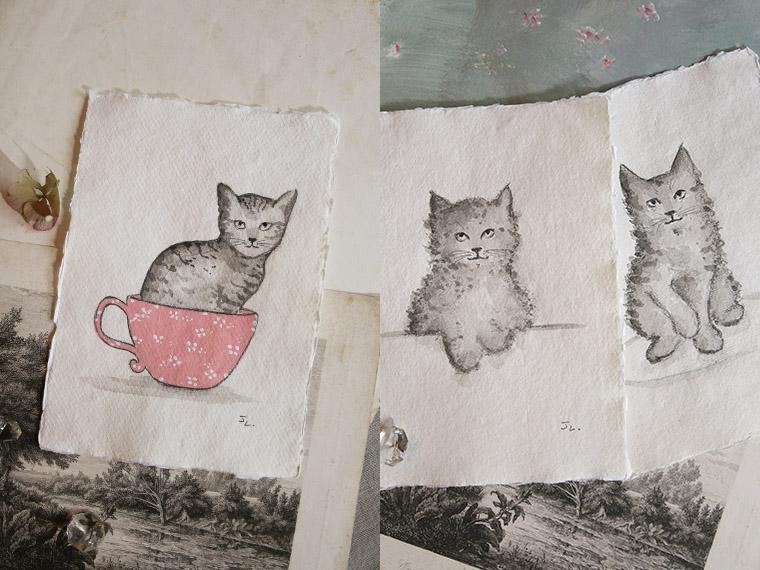 Dessins de chats