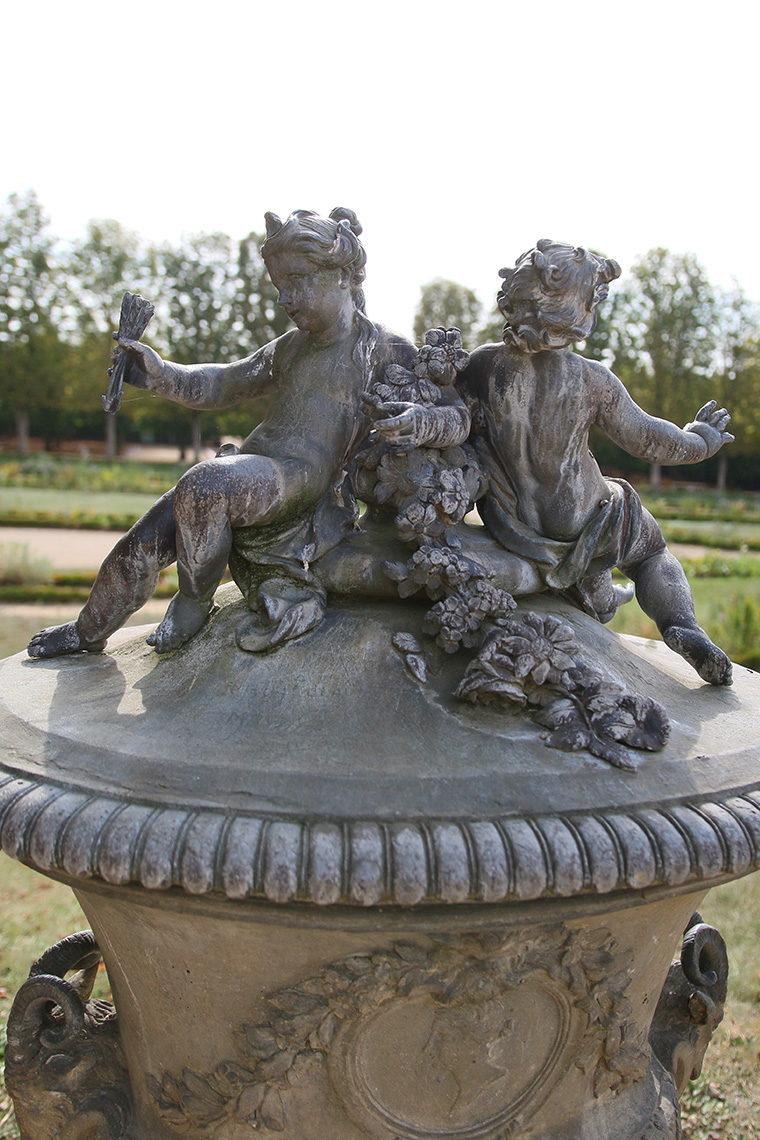 Chérubins dans les jardins du Grand Trianon