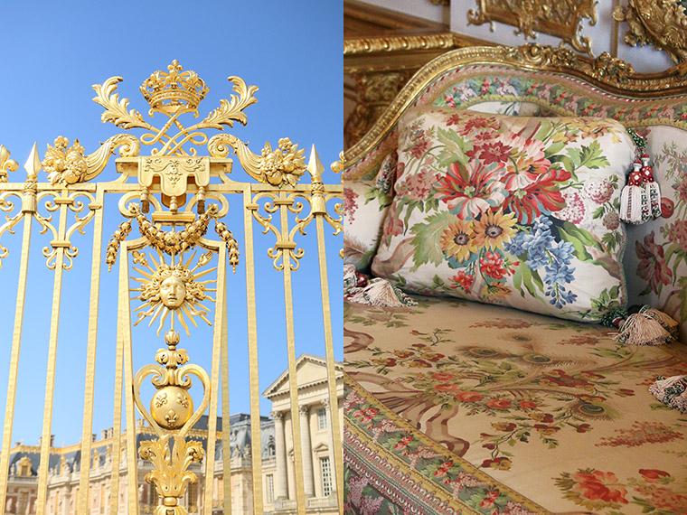 Grille d'honneur du Château de Versailles