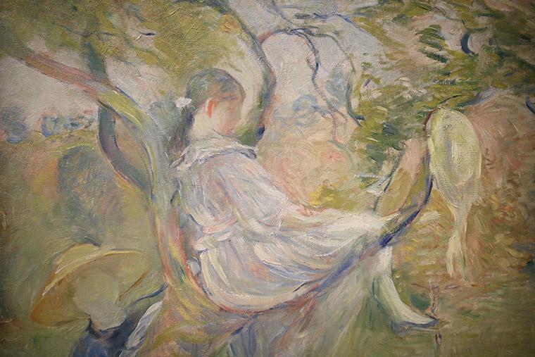 Dans le pommier de Berthe Morisot