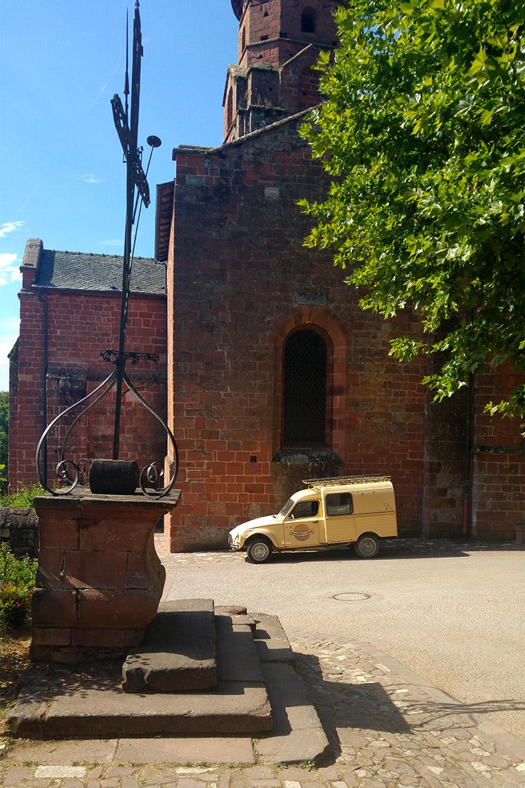 Église de Collonges-la-Rouge