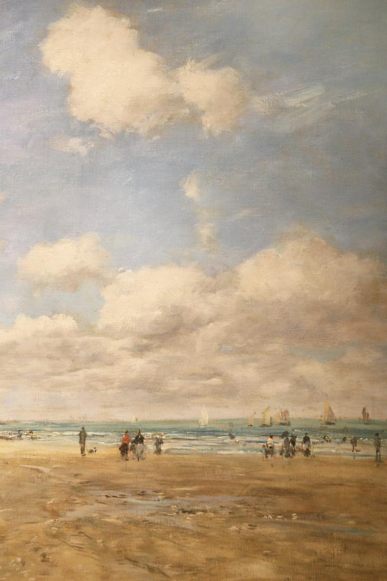 Deauville, tableau d'Eugène Boudin