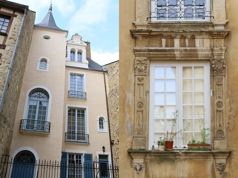Maison rénovée dans la Cité Plantagenêt