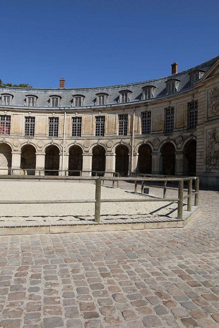 Cour de la Grande Écurie de Versailles