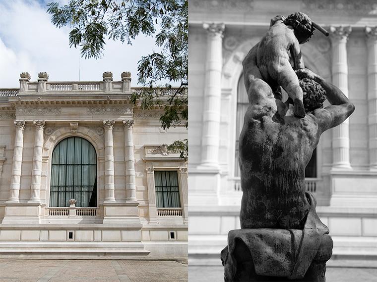 Une fenêtre du Palais Galliera