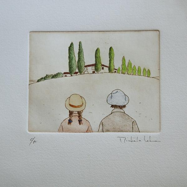 Gravure de Michèle Lehmann