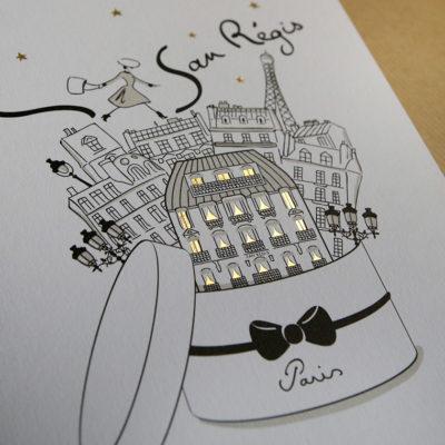 Paris dans une boîte à chapeau