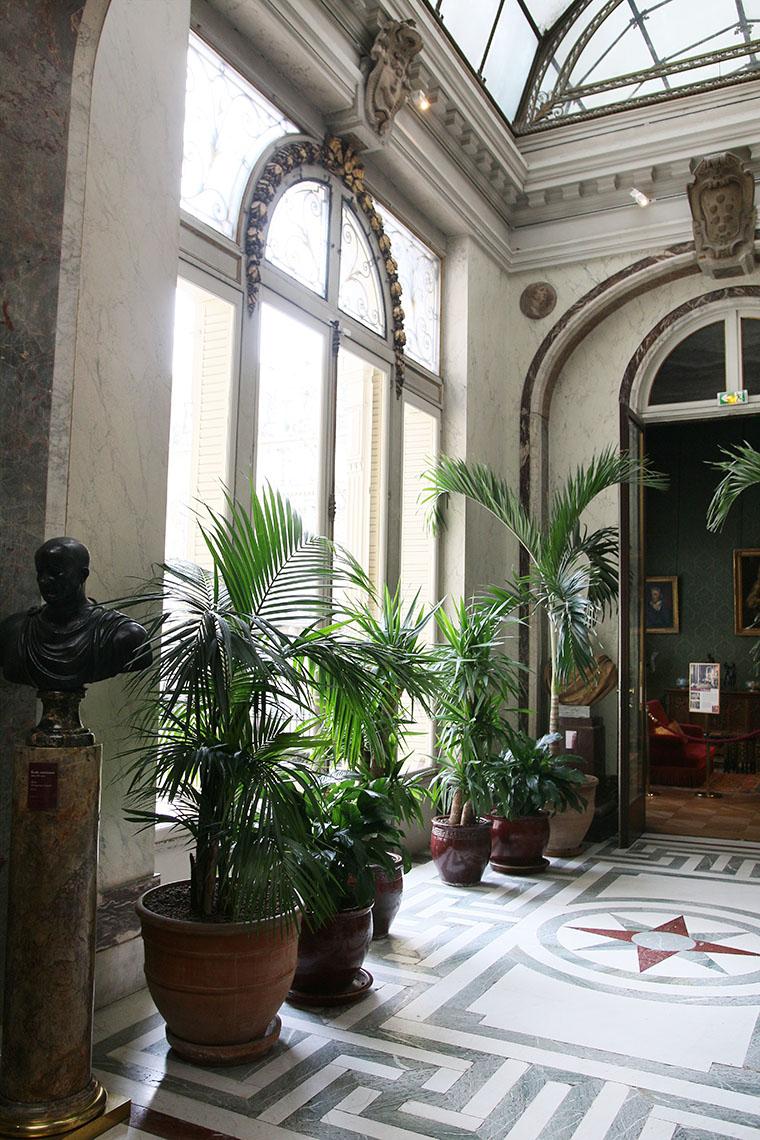 Le jardin d'hiver du musée Jacquemart-André
