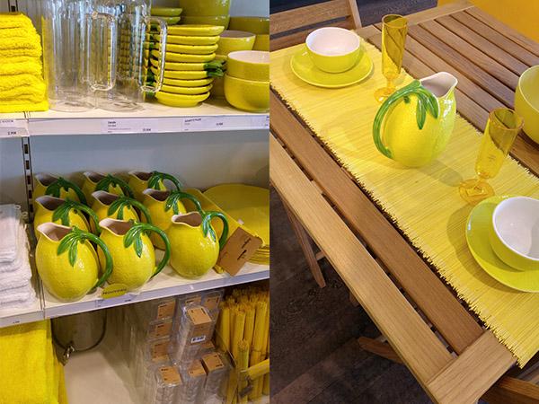 Du jaune et encore du jaune