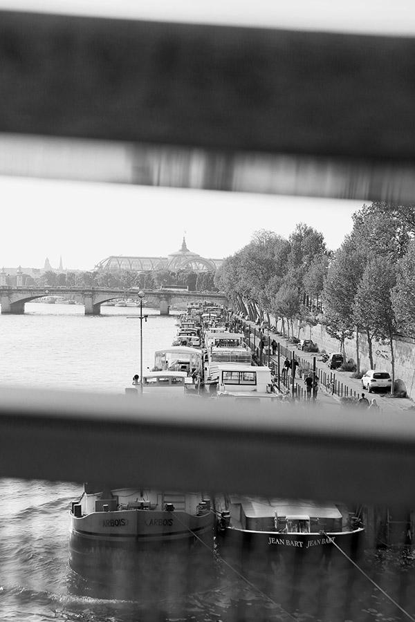 Péniches parisiennes