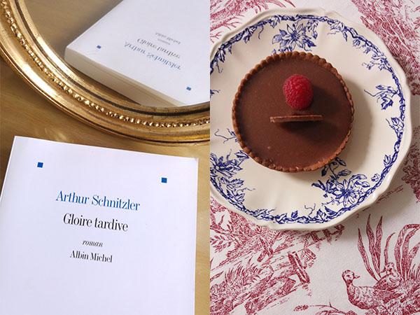 Tartelette au chocolat