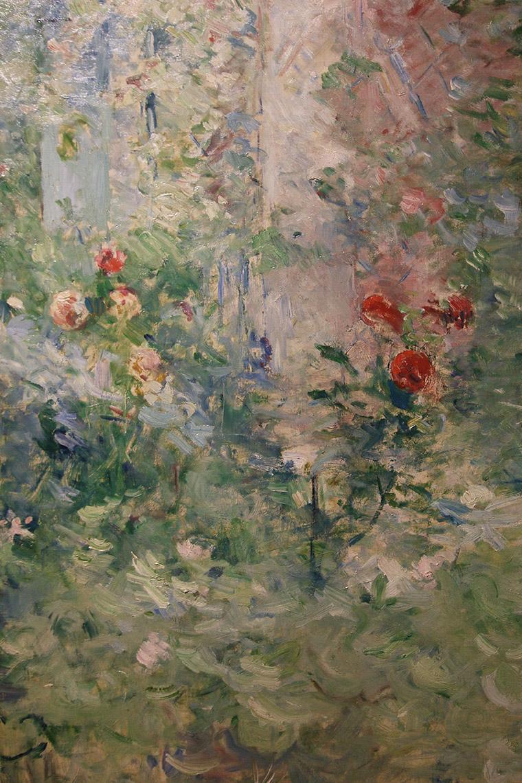 Le jardin de Bougival de Berthe Morisot