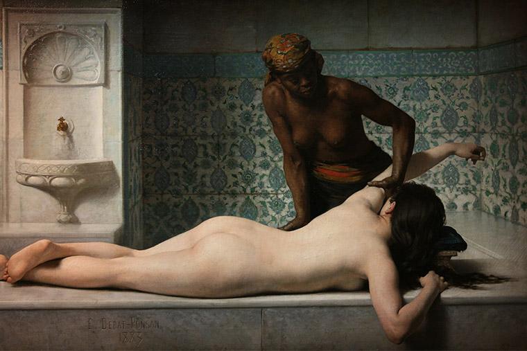 Le Massage d'Édouard Debat-Ponsan