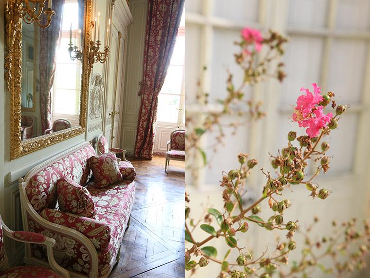 Le salon de compagnie du Petit Trianon