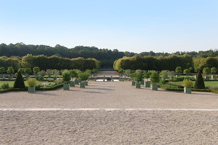 Perspective sur les jardins du Grand Trianon