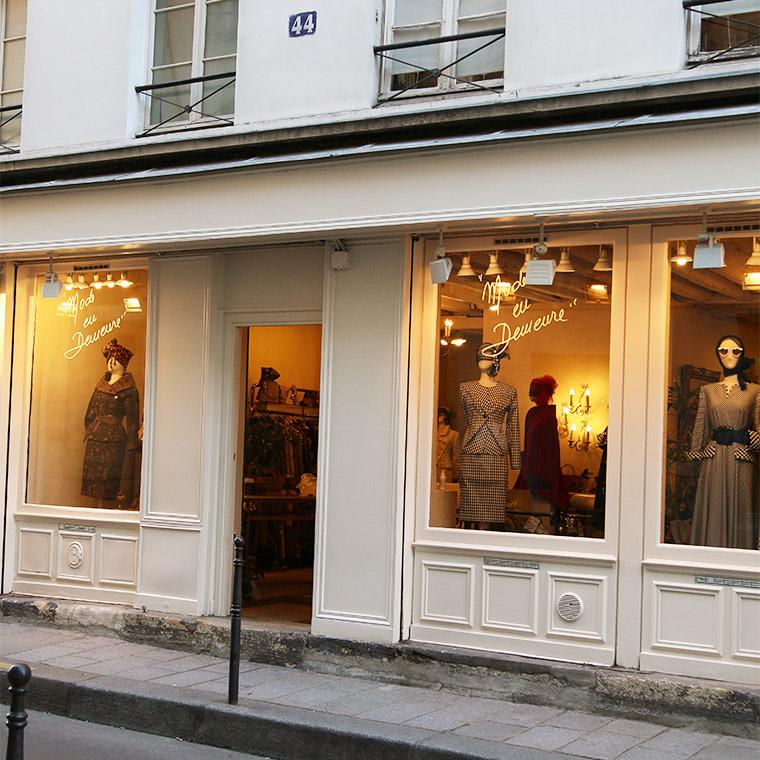 La boutique Mode en demeure