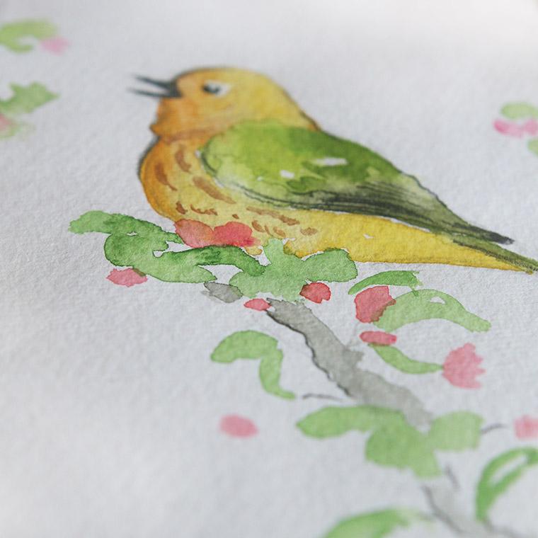 Petit oiseau jaune