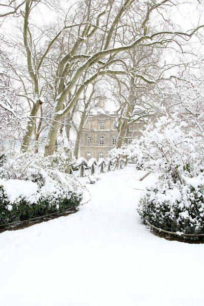 Paris en habit blanc