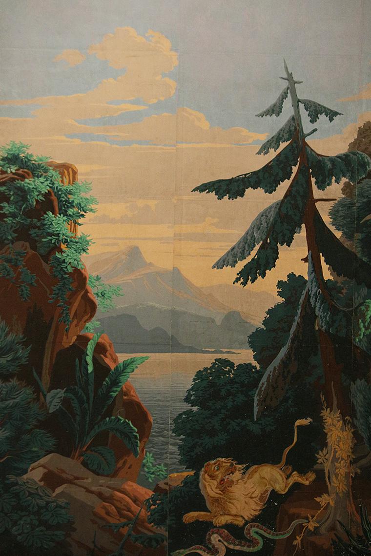 Papier peint panoramique Renaud et Armide