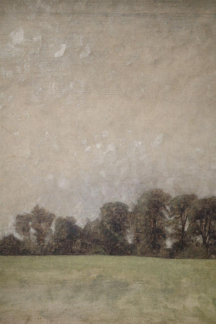 Étude de paysage de Vilhelm Hammershøi